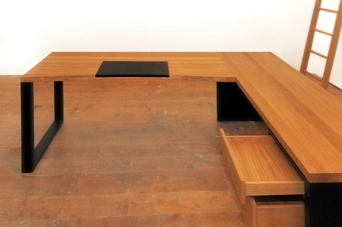 M beltischlerei innenausbau daniel renken hannover for Schreibtisch l form